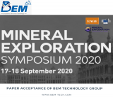 The Acceptance of BEM Technology Group's Paper in Mineral Exploration Symposium